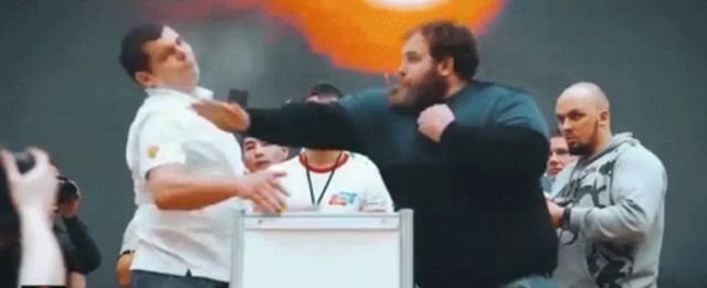 Slapping Competition In Russia (18 gifs)