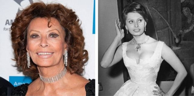 Famous Women: Then And Now (34 pics)
