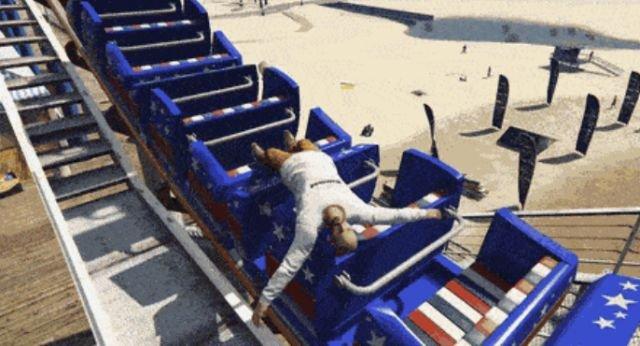 Broken Gaming Physics (17 gifs)