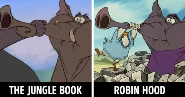 Similar Cartoon Scenes (15 pics)