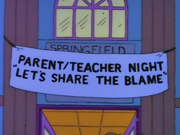 "Funny Signs From ""The Simpsons"" (70 pics)"