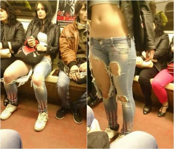 Jean Repair Could Be A Booming Business (40 Pics)