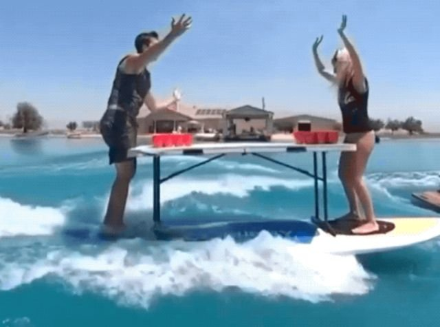 Beer Pong GIFs (23 gifs)