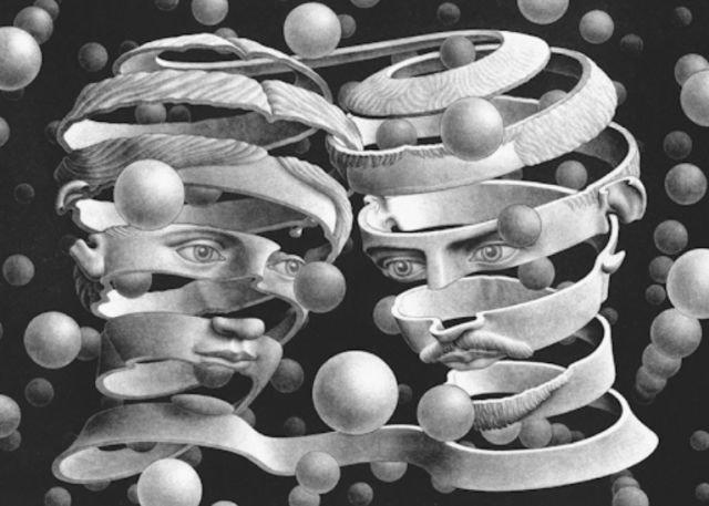 M.C. Escher GIFs (22 gifs)