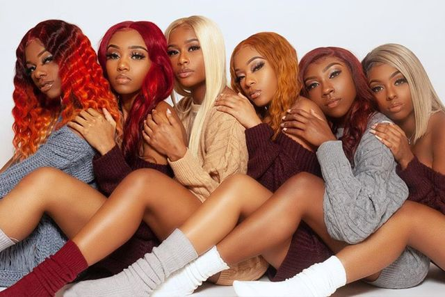 Nine Human Hair Wigs with Bangs for African American