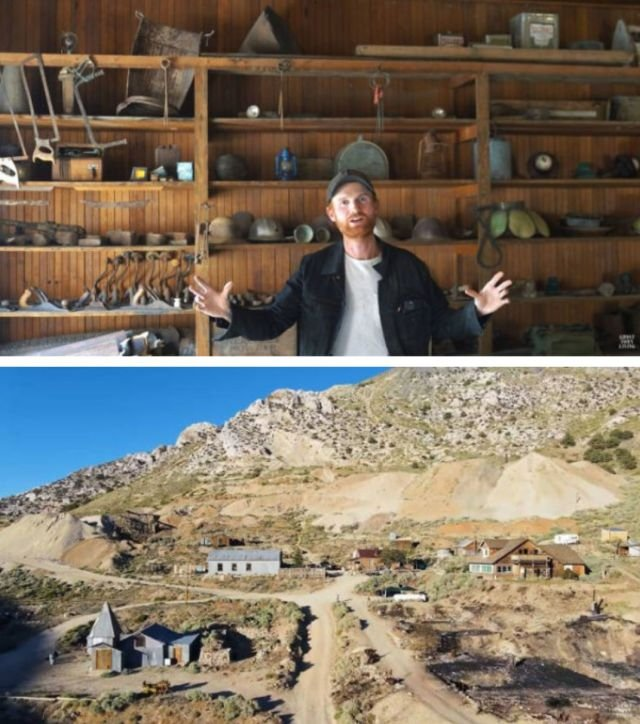 This Guy Bought A $1.4 M Ghost Town And Been Rebuilding It During Isolation (31 pics)