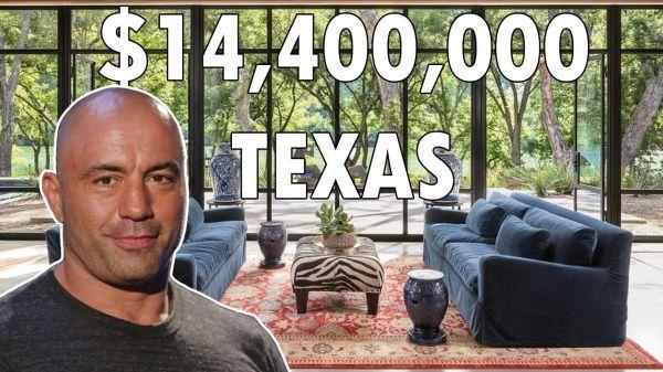 Step Inside Joe Rogan's $14 Million Texas Pad