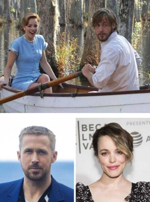 Movie Couples: Then And Now (20 pics)