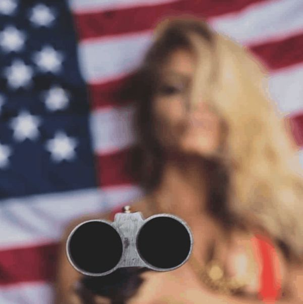 Women Who Love The Red, White, And Blue (50 Pics)